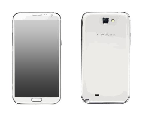 Samsung Galaxy Note 2 GT N7100 Reparatur