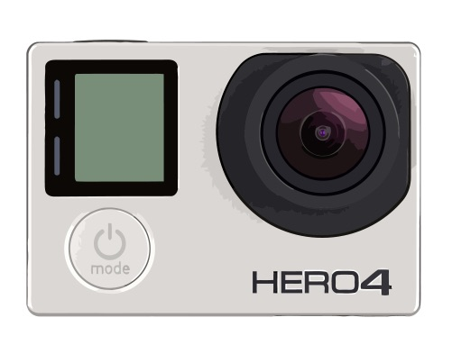 GoPro HD Hero 4 Silver Edition Reparatur