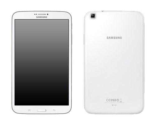 Samsung Tablet Flackert