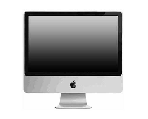 Apple iMac 24 2.66 GHz A1225 MB418LL A Reparatur